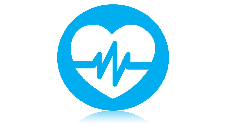 Ikon för avancerad visualisering av hjärtbilder